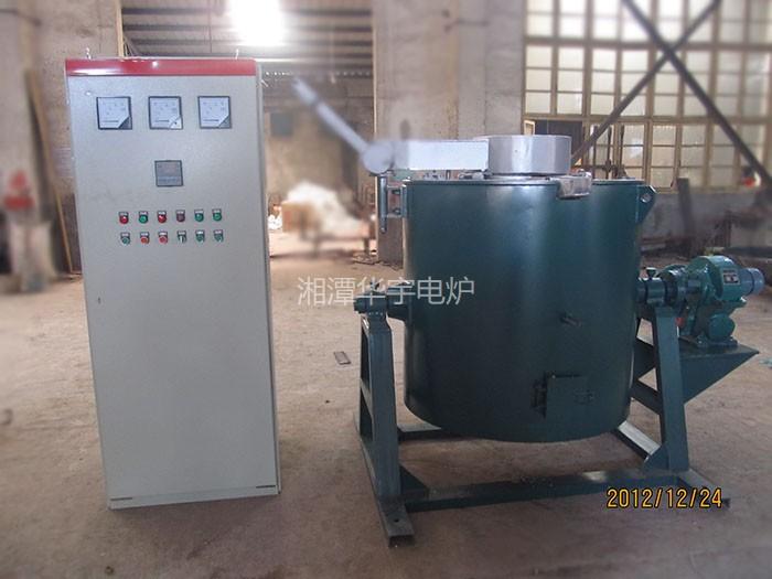 电热坩埚溶铅炉